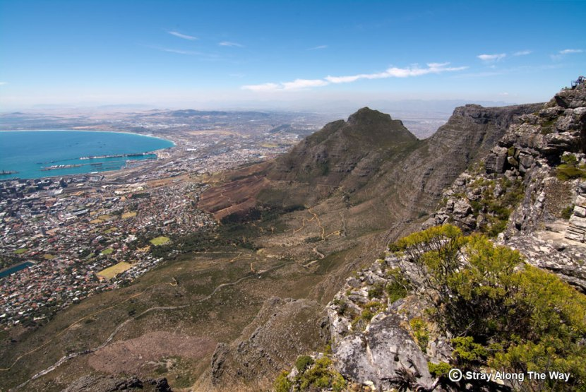 Cape Town from Table Mountain