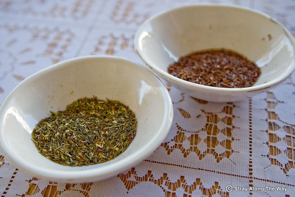 Tea fibres