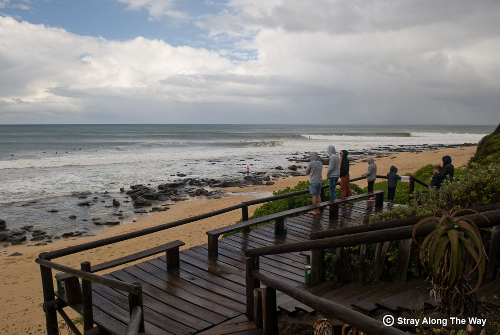 Supertubes cold front surf - Jeffreys Bay
