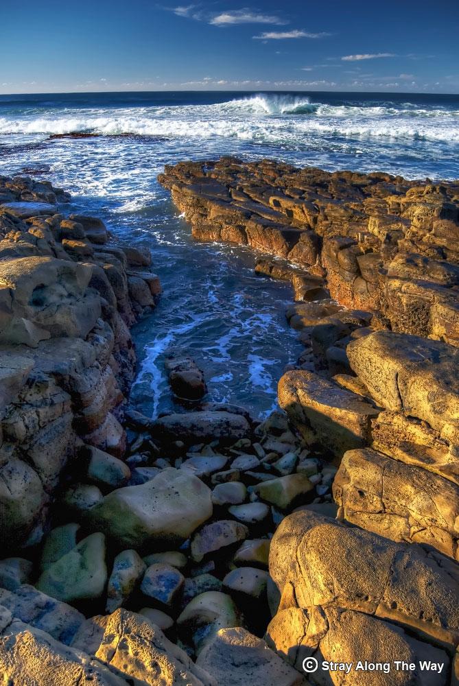 wild coast rocky coastline