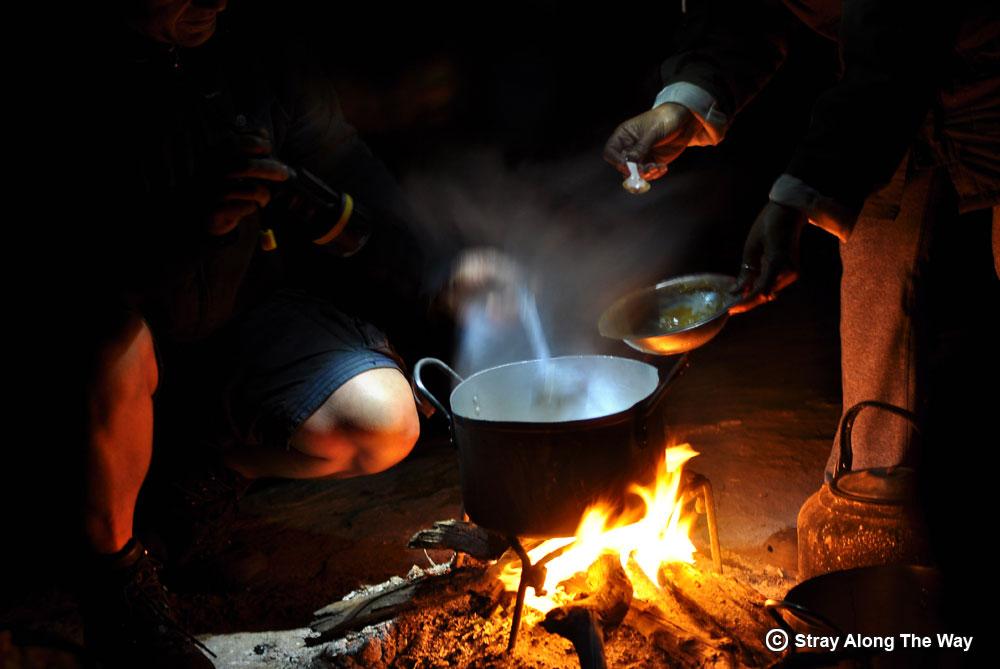 wilderness trail kitchen