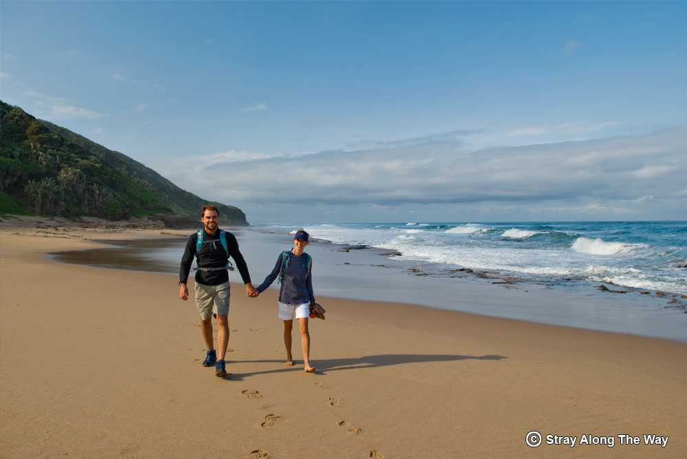 bevan and jill at mission rocks isimangaliso