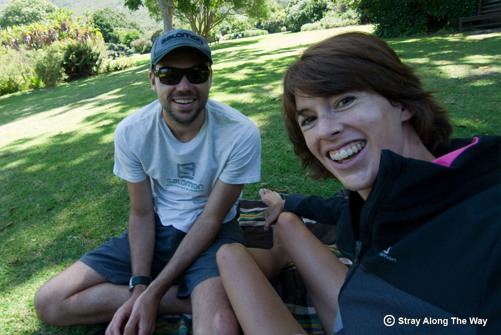 Picnic on the lawn at Kirstenbosch National Botanical Garden