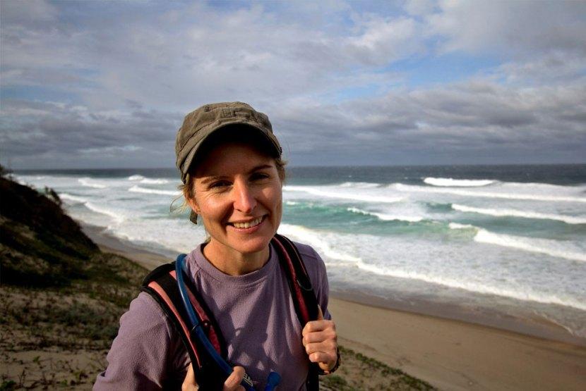 Sarah Drew Kosi Bay Hiking