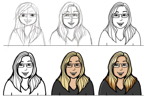 Jess Drawing Process
