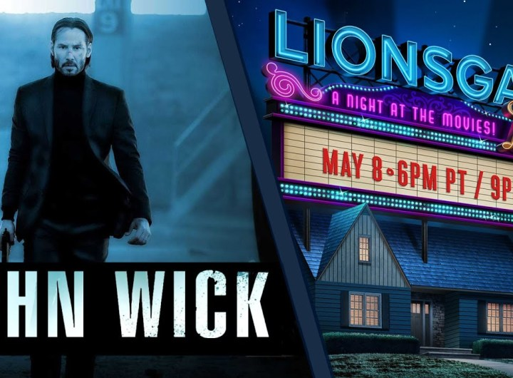 John Wick (2014) Lionsgate LIVE! A Night At The Movies   #StayHome #WithMe