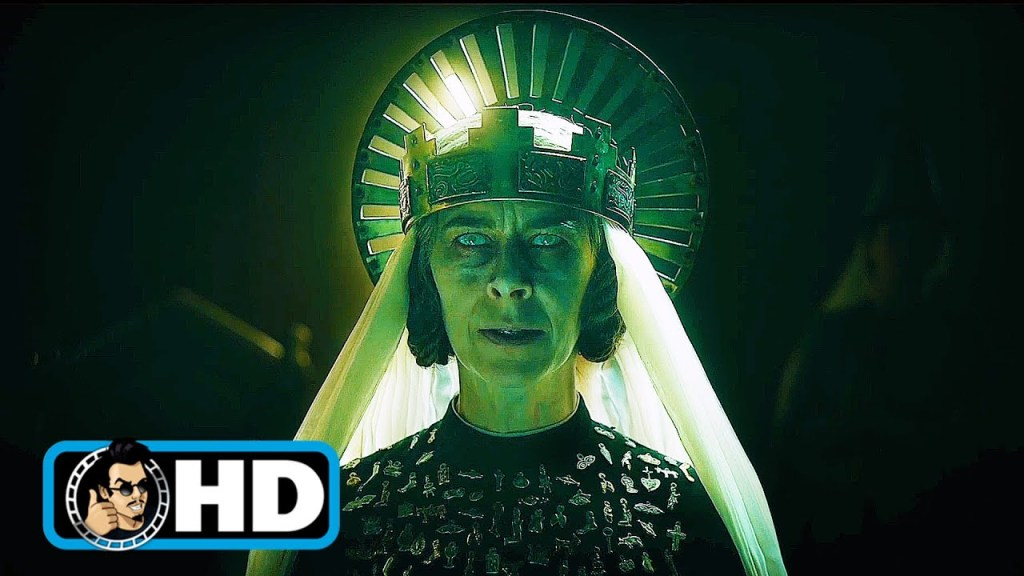 """THE GREEN KNIGHT Clip - """"Reading of the Challenge"""" (2021) Dev Patel"""
