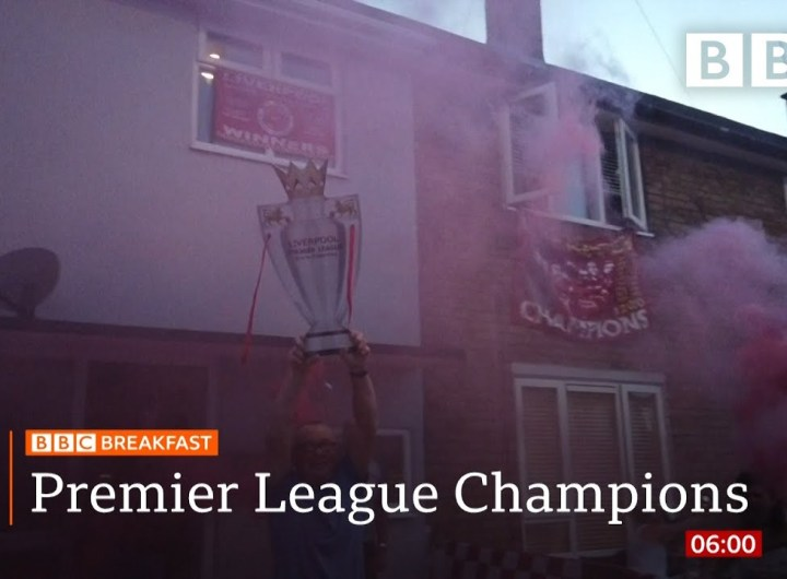 Liverpool end 30-year wait for title - Top stories this morning - BBC