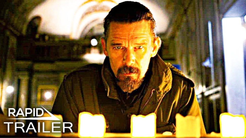 ZEROS AND ONES Official Trailer (2021) Ethan Hawke Thriller Movie HD