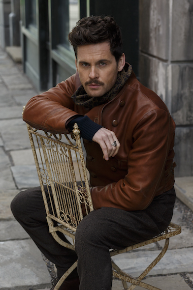 Picture shows: Claude Sabine (TOM RILEY)