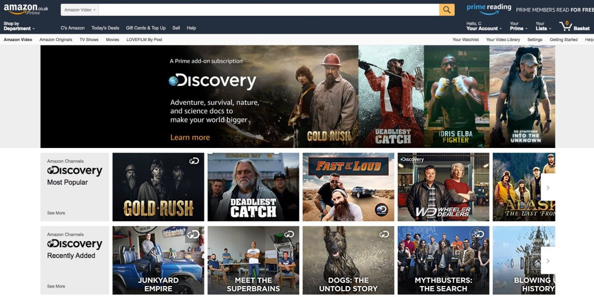 Amazon Channels is easily the worst ever attempt to reinvent British TV