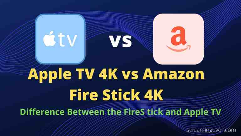 difference between the fire stick and Apple TV