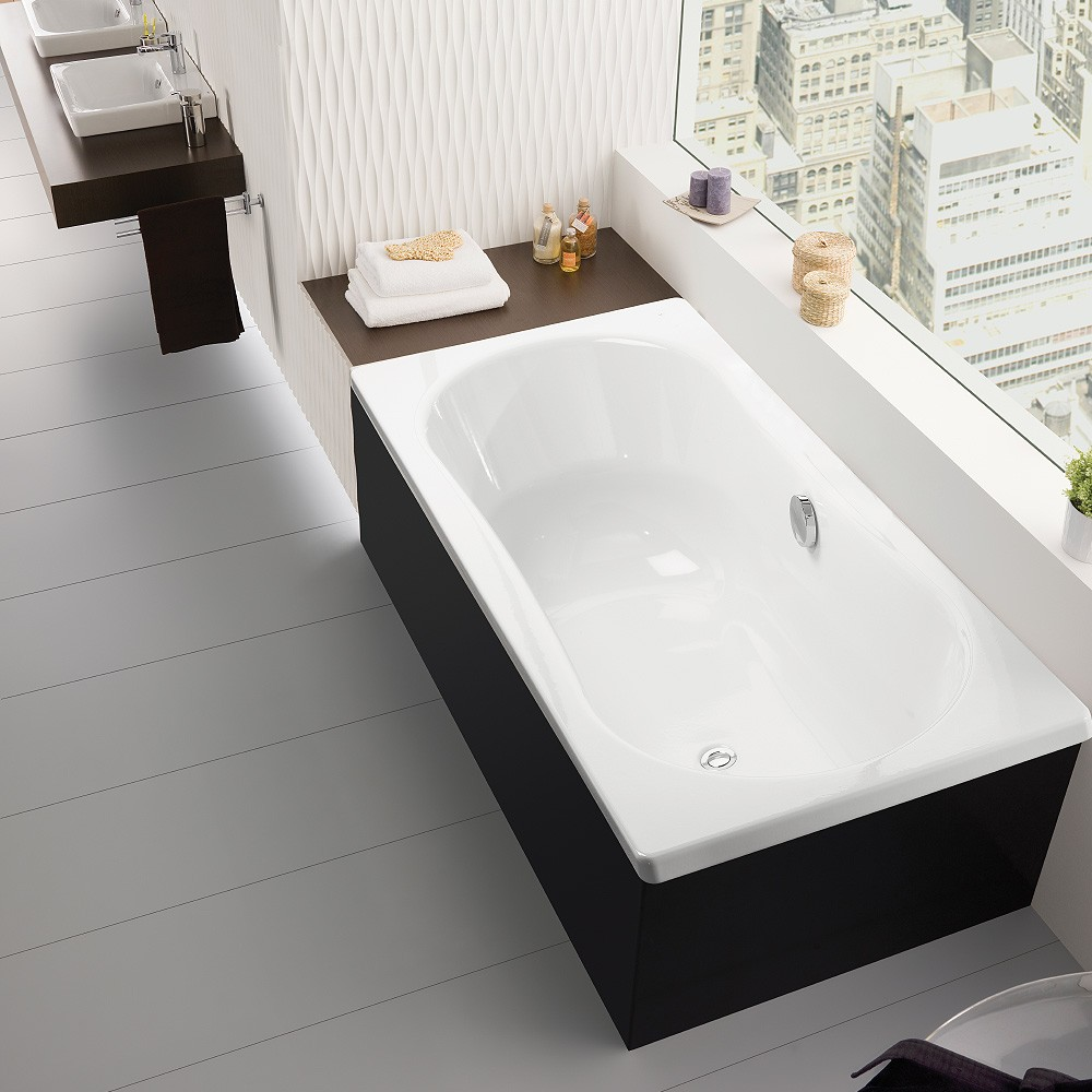 Emma Square 1800 Inset Bath Streamline Products