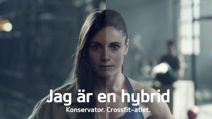 Skärmbild från YT från KIA reklamfilm