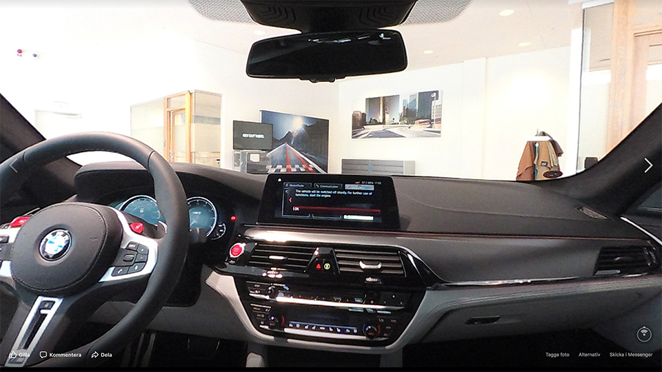 BMW M5 360VR