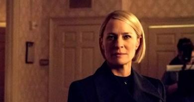 """Netflix publikuje pierwsze zdjęcia z ostatniej serii """"House of Cards""""."""