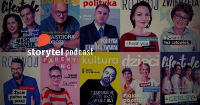 Podcasty w serwisie Storytel