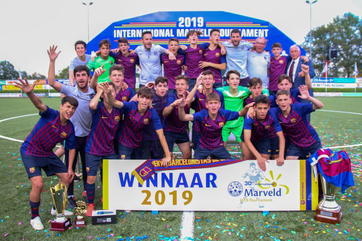 FC Barcelona winnaar 30e Internationaal Marveldtoernooi