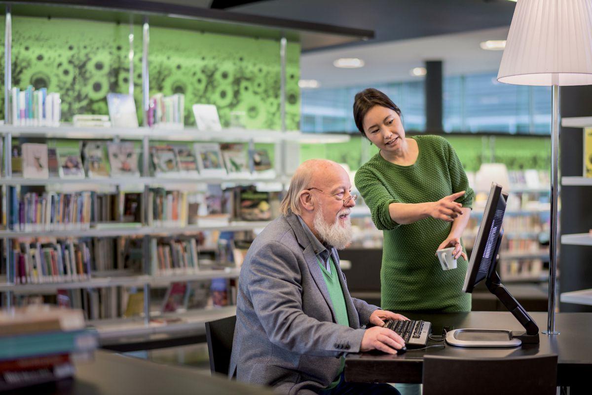 Gratis cursus in de Bibliotheek