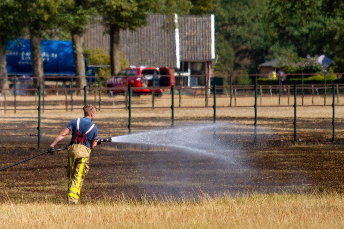 Verhoogd risico natuurbrand