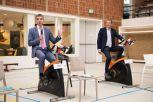 Paul Blokhuis en Peter van 't Hoog. Foto: PR