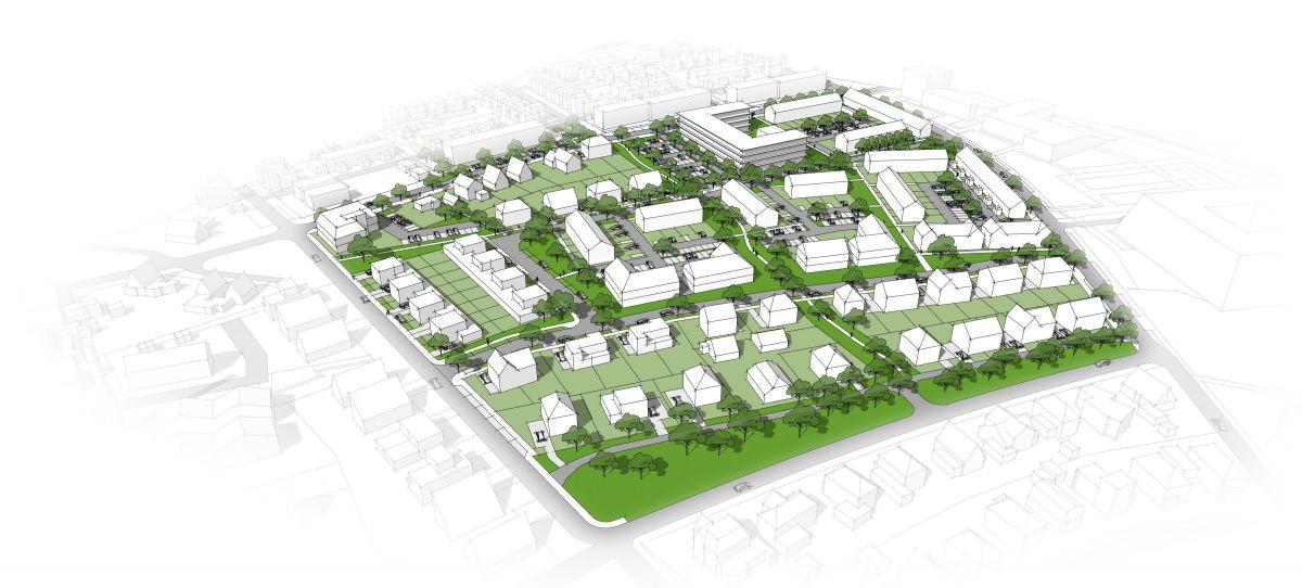 Plan voor bouw van 242 woningen
