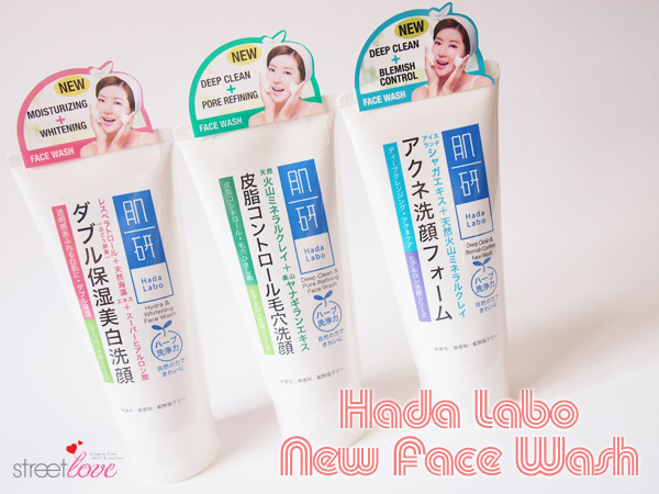 Hada Labo New Face Wash 1