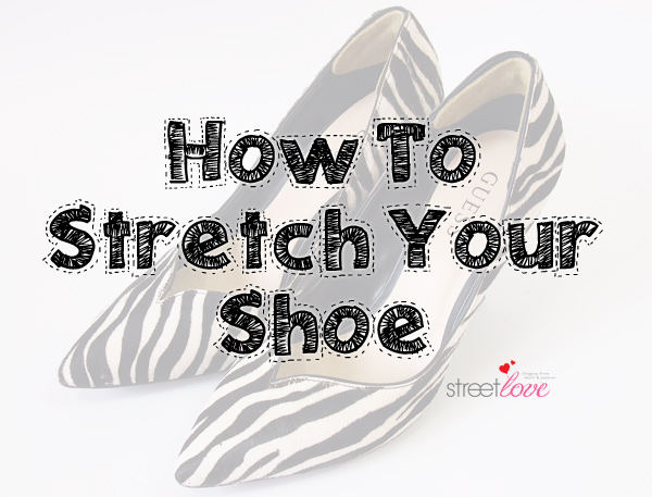 How To Stretch Your Shoe 1