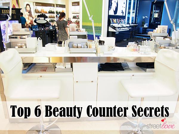 Top 6 Beauty Counter Secrets 1