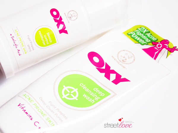 Oxy Deep Cleansing Wash and Blemish Control Moisturiser_2