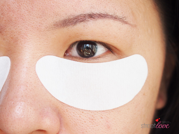 Purederm Anti-Wrinkle Gel Patches on Face