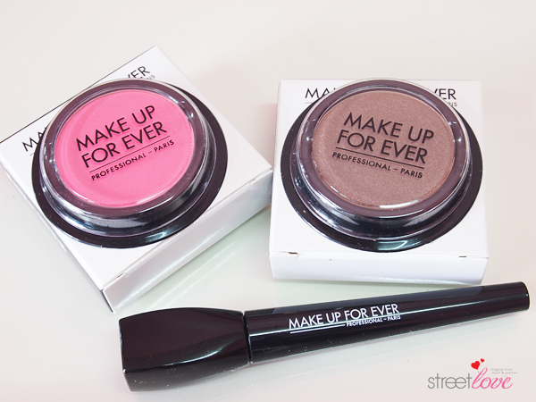 Make Up For Ever Artist Shadow Tutorial 1