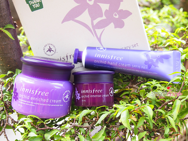 Innisfree Orchid Enriched Cream 15th Anniversary Set Closeup