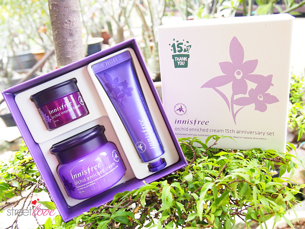 Innisfree Orchid Enriched Cream 15th Anniversary Set