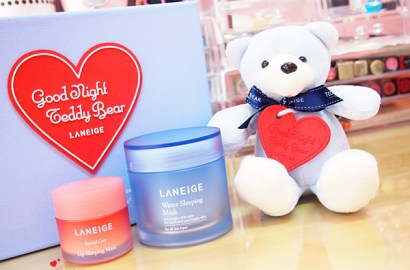 Laneige Water Sleeping Mask and Lip Sleeping Mask