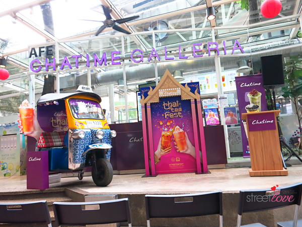 Chatime Thai Tea Festival Media Launch