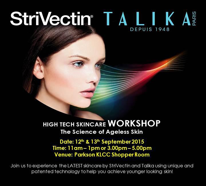 StriVectin & Talika High Tech Skincare Workshop