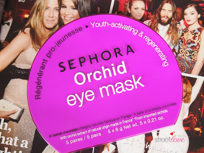 Sephora Orchid Eye Mask