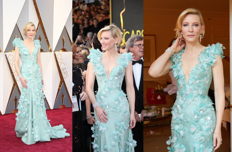 Oscars Red Carpet Ready with Cate Blanchett