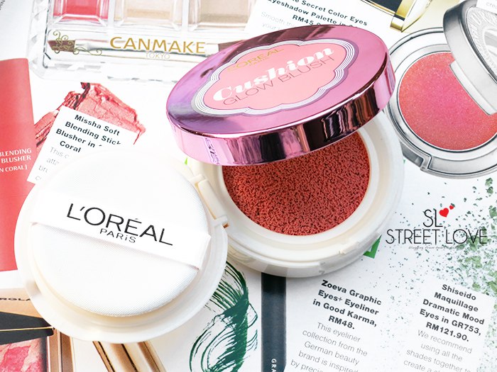 L'Oréal Lucent Magique Cushion Glow Blush P3 Rose Affair 1