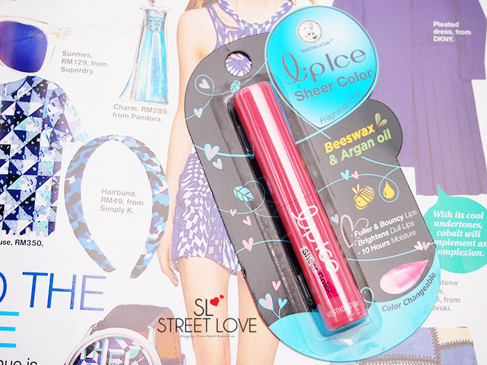 LipIce Sheer Color 1