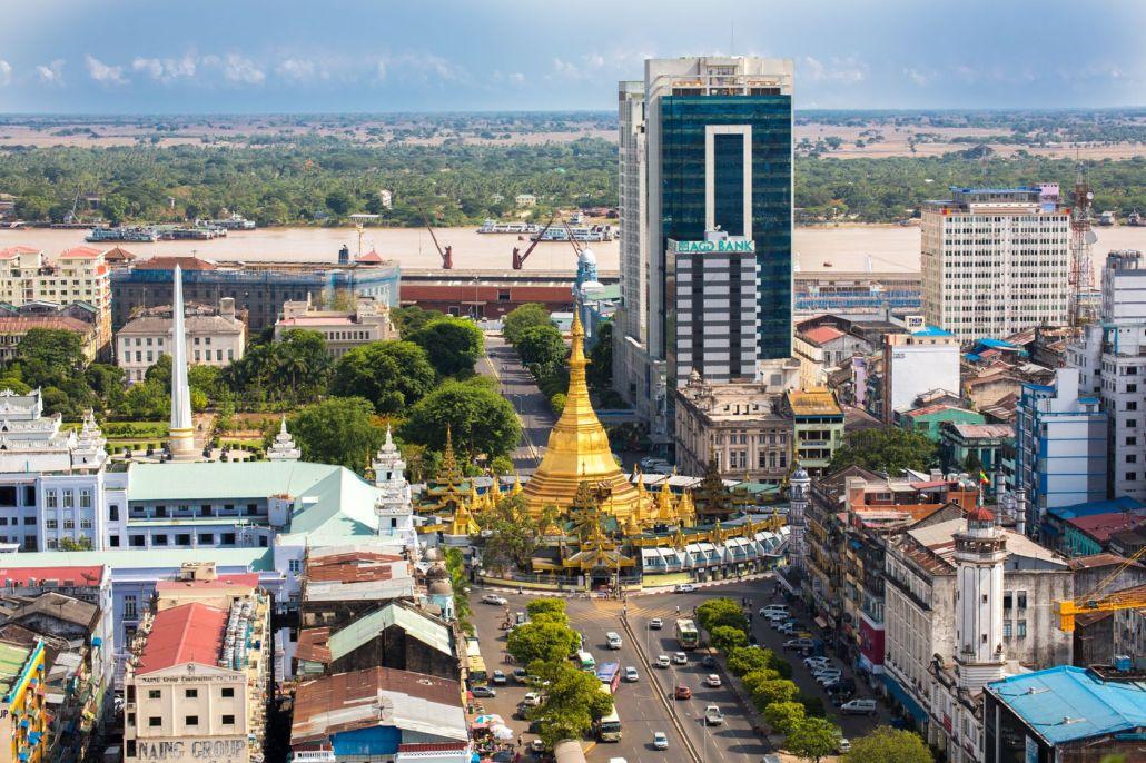 Central_Yangon(ヤンゴン中心部)