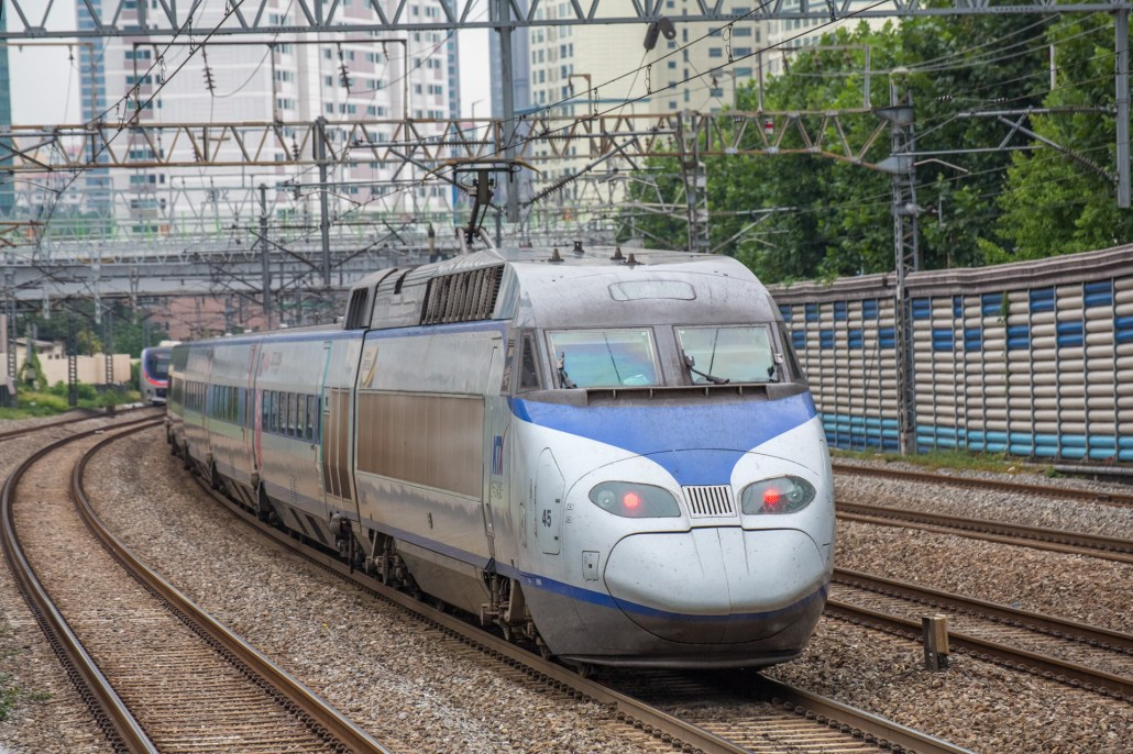 Korea train express(KTX)