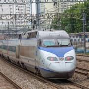 train photo of Korea train express(KTX)