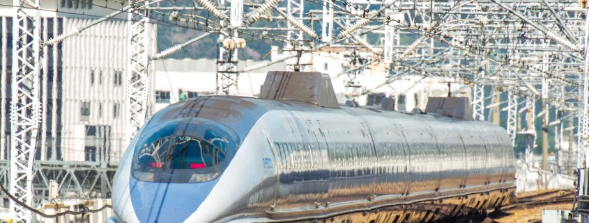 train photo of Shinkansen series 500