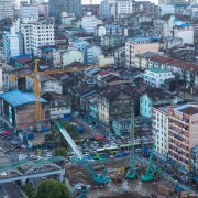 Yangon city Landscape