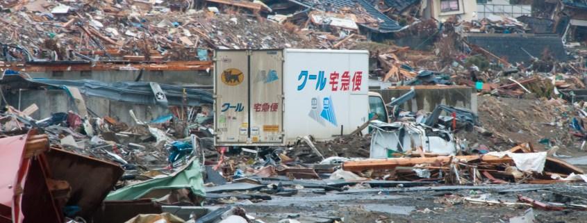 3.11 Earthquake Tohoku Japan(ヤマト運輸-2011年3月11日東日本大震災)