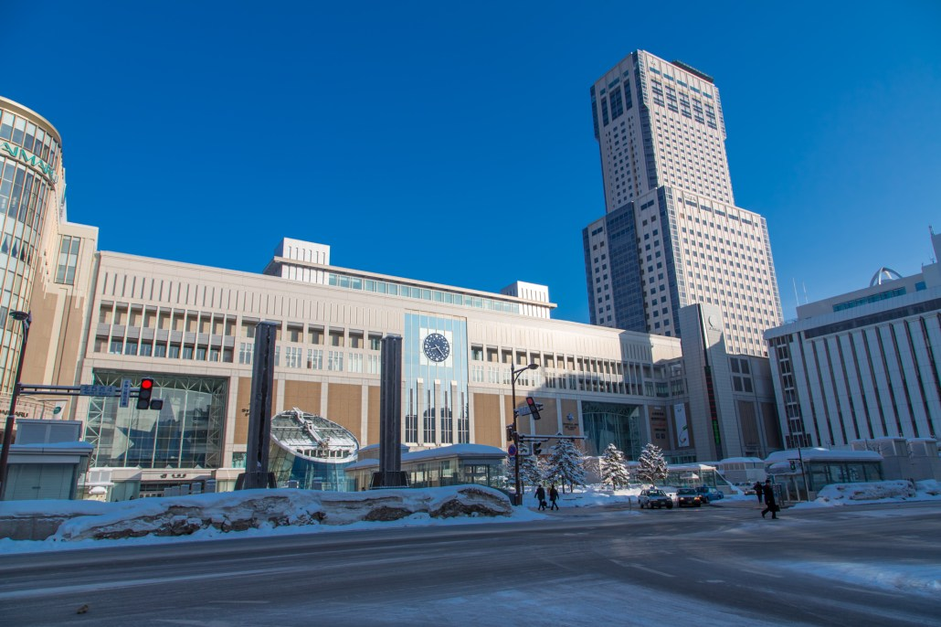 Sapporo station(札幌駅)
