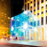Apple Store New York Fifth Avenue 4K(アップルストア ニューヨーク 5番街 4K)