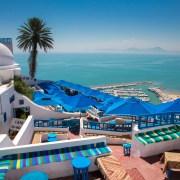 Tunisia, Tunis, Sidi Bou Said, Le café des Nattes 5K,チュニジア シディ・ブ・サイド,カフェ・デ・ナット,5K